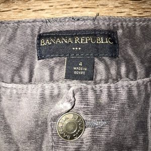Banana Republic Factory Pants - Banana Republic Factory Gray Cords, Size 4